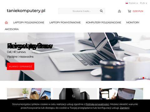 Poleasingowe laptopy i komputery używane najtaniej w kraju