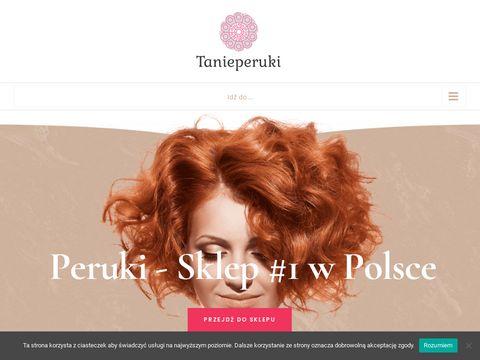 WyjÄ…tkowe peruki damskie i toppery - Tanieperuki.pl