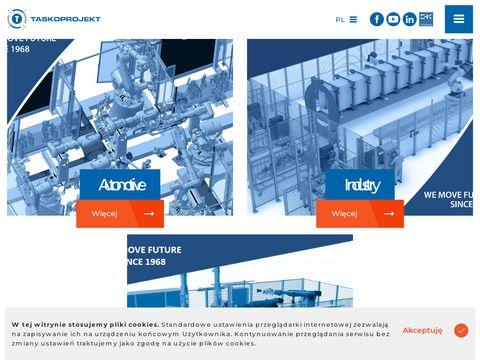 Automatyzacja procesów produkcyjnych TASKOPROJEKT S.A.