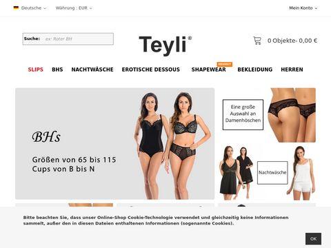 Producent bielizny damskiej   Bielizna Teyli