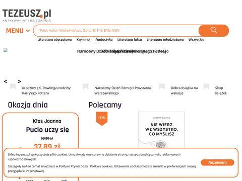 Antykwariat internetowy - tezeusz.pl