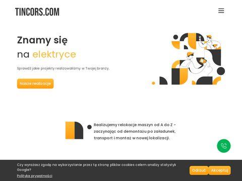 Relokacje maszyn, us艂ugi d藕wigowe, demonta偶 urz膮dze艅 - Tincors.pl