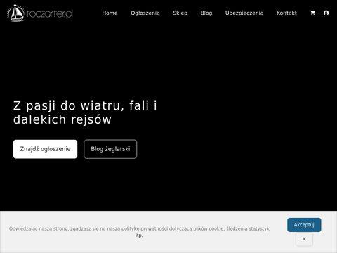 Toczarter.pl - żeglowanie bez pośredników po Mazurach