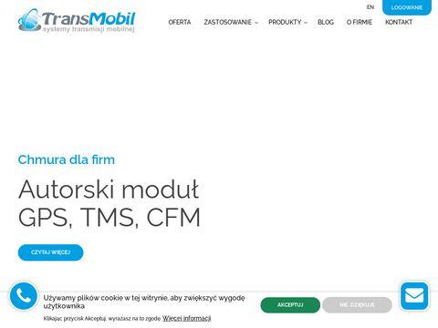 TransMobil - lokalizacja samochodu, monitoring GPS