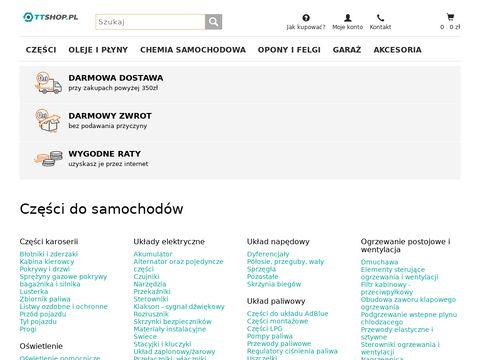 Części samochodowe TTshop.pl - kupuj online części do auta