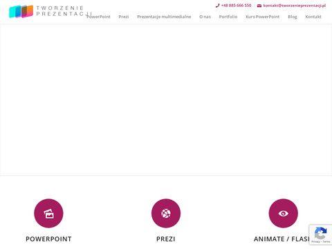 Tworzenieprezentacji.pl - tworzenie prezentacji multimedialnych