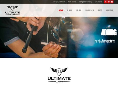 Auto detailing Wroc艂aw - ultimatecars.pl