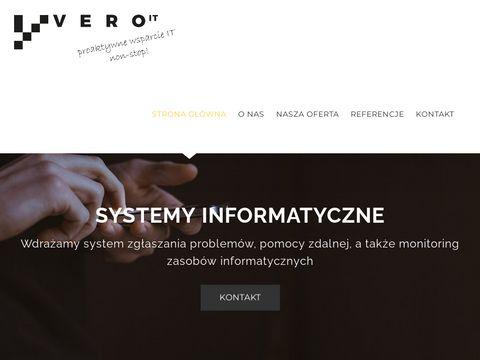 Usługi informatyczne - VERO IT