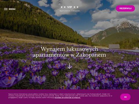 VIP Apartamenty Zakopane - Oficjalny portal rezerwacyjny