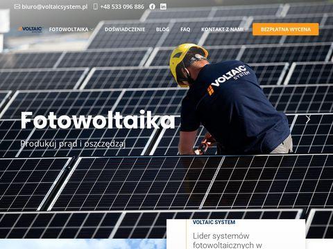 Voltaic System - Montaż paneli fotowoltaicznych