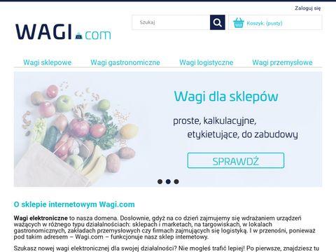 Wagi elektroniczne - wagi.com