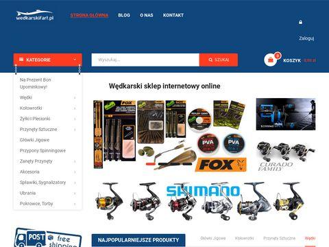 Profesjonalny internetowy sklep w臋dkarski online | W臋dkarskifart.pl
