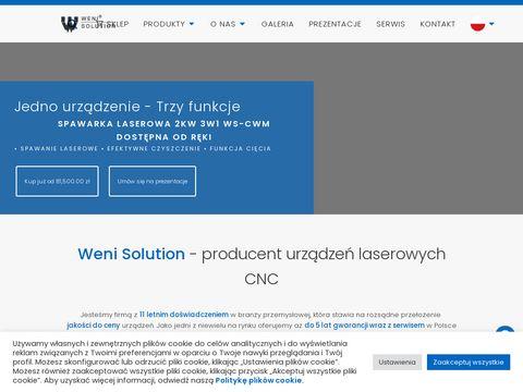 Weni Solution - Sprzeda偶 i serwis laser贸w聽Co2