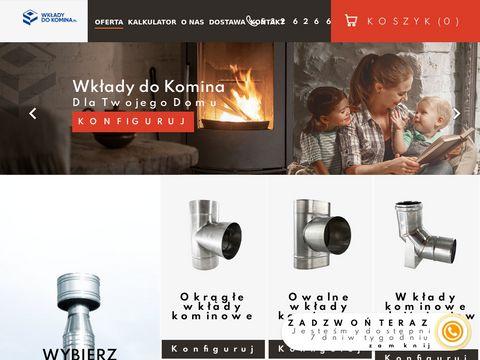 Wkłady do komina - Okrągłe i Owalne Wkłady Kominowe