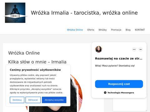 Wróżka Irmalia - tarocistka, wróżka online, wróżby online