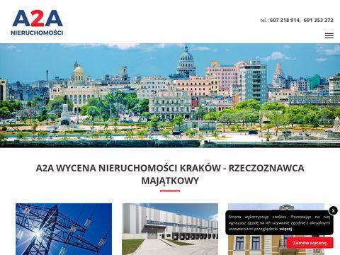 Wycena nieruchomo艣ci Krak贸w -聽a2a-wycena.pl