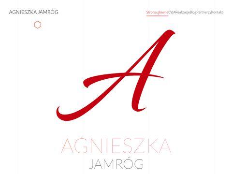Agnieszka Jamr贸g - projektowanie stron internetowych