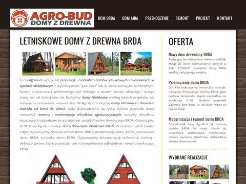 AgroBud | Domy drewniane letniskowe z drewna