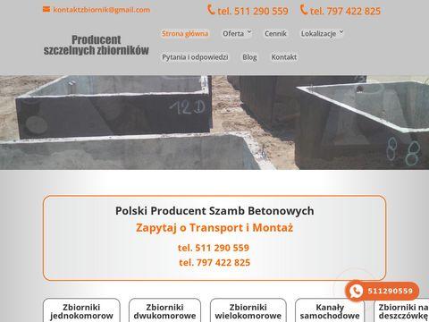 Szamba Betonowe - AJP