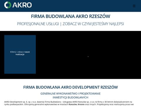Firma budowlana Rzeszów