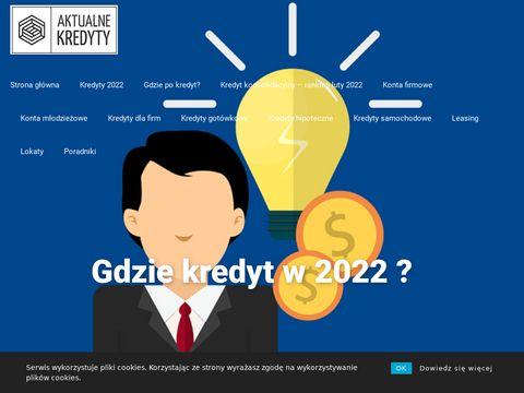 Wszystkie aktualne oferty banków 2019 - aktualnekredyty.pl