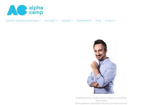 Obozy naukowe dla dzieci - alphacamp.pl