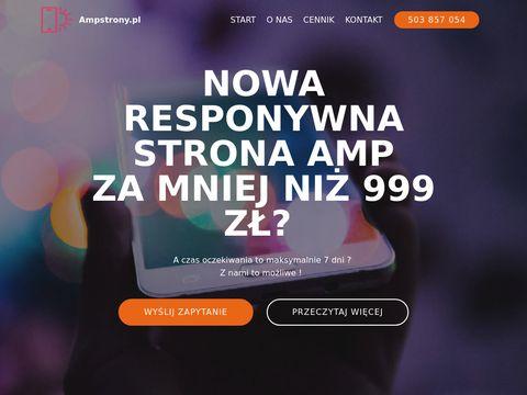 Ampstrony.pl - Tworzenie stron www