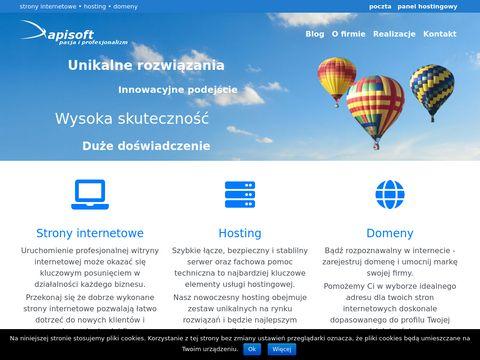 Tworzenie stron - apisoft.pl