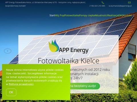 Fotowoltaika APP Energy | Kielce