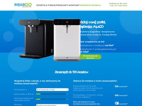 Woda do biura - aquago.com.pl