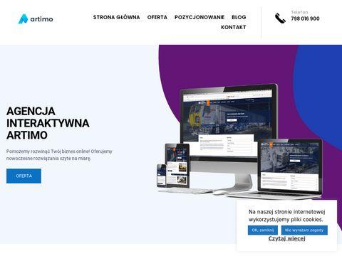Strony internetowe Olsztyn - Artimo.net.pl