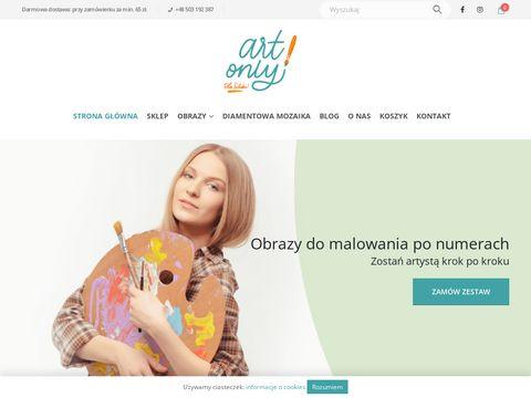 Malowanie po numerach sklep - artonly.pl