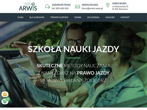 Nauka jazdy Warszawa