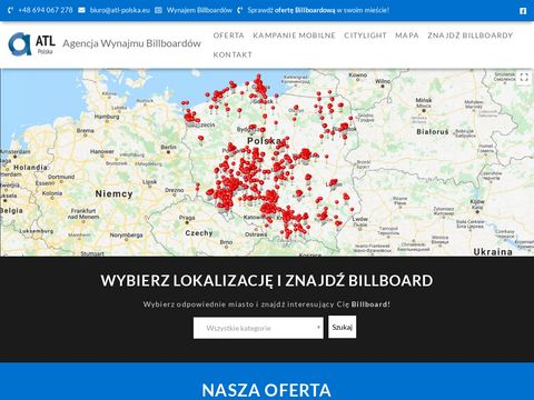 Agencja wynajmu billboardów ATL-Polska.eu