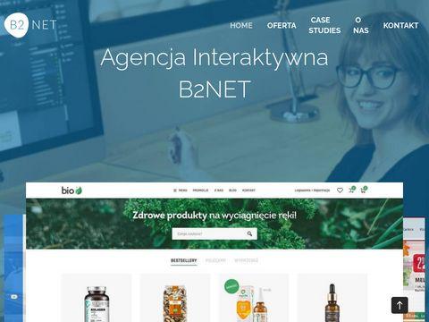 Agencja Interaktywna w Poznaniu   B2Net Systems
