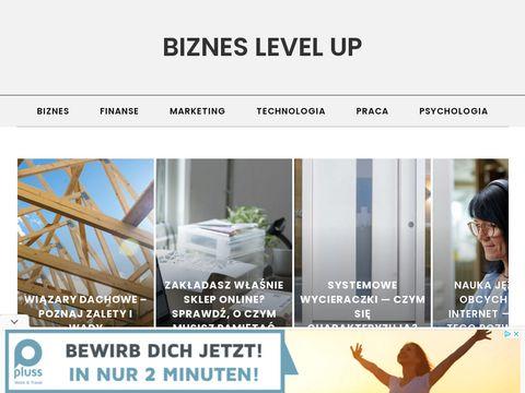 Bizneslevelup.pl - portal dla ludzi biznesu