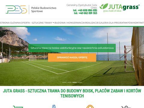 Budowa boisk sportowych PBS