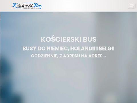 KoÅ›cierski bus - przewozy do Niemiec