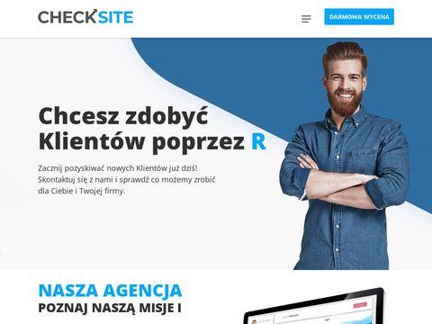 CheckSITE - projektowanie i tworzenie strony internetowych Kraków