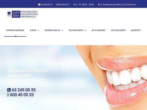 Stomatolog konin - citydentkonin.pl