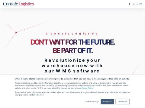Innowacje magazynowe Consafe Logistic