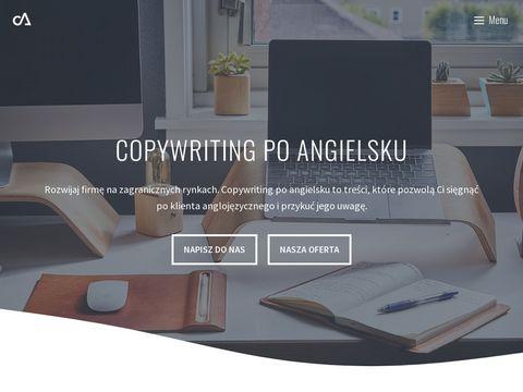 Copywriter angielski - copywriter-angielski.pl