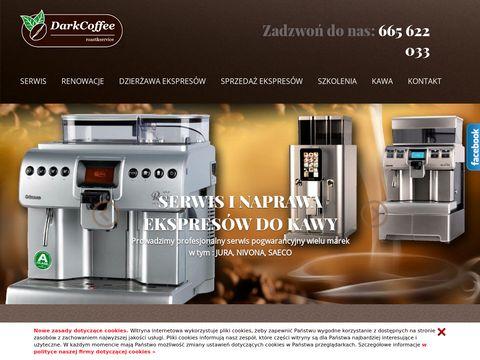 Serwis ekspresów do kawy : Darkcoffee.pl