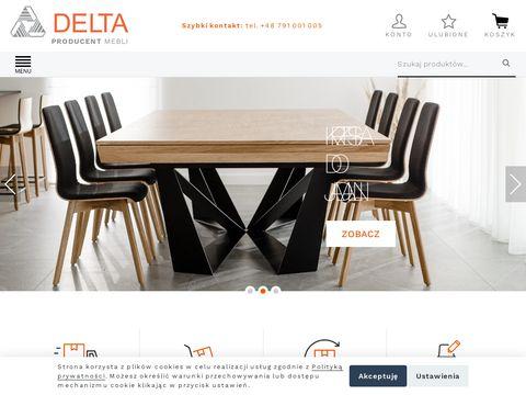 Deltachairs – producent krzeseł i stołów drewnianych