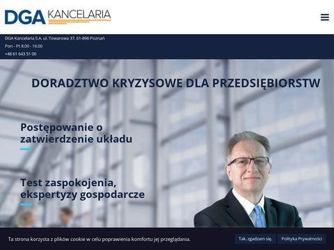 Doradca Restrukturyzacyjny - DGA Kancelaria