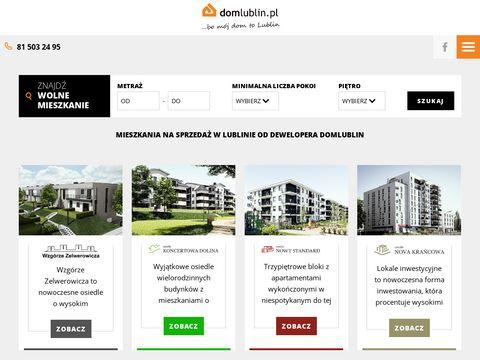 Mieszkania na sprzeda偶 lublin - domlublin.pl