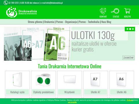 Drukarnia internetowa online – Drukowalnia.pl – Tanio i szybko!