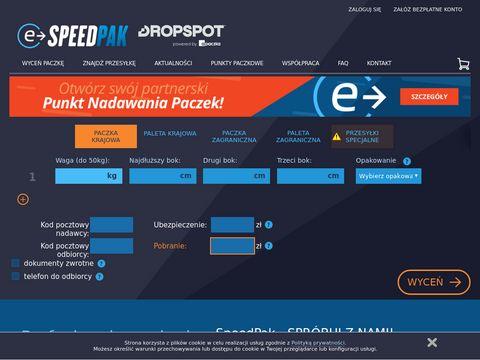 Kurierskie punkty paczkowe - e-speedpak.net
