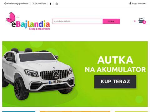 Sklep internetowy z zabawkami - Jeździki, Foteliki samochodowe -eBajlandia