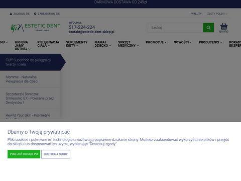 Szczoteczki Soniczne, Irygatory, Pasty - Estetic-Dent-Sklep.pl